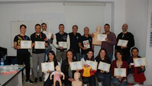 Cirò Marina, Formati 12 operatori di Primo Soccorso Blsd con l'utilizzo del defibrillatore (72)